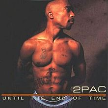 Обложка альбома 2Pac «Until the End of Time» (2001)
