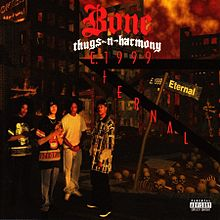 Обложка альбома Bone Thugs-N-Harmony «E. 1999 Eternal» (1995)