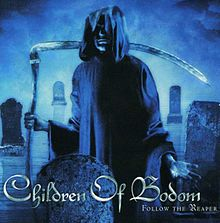 Обложка альбома Children of Bodom «Follow the Reaper» (2000)