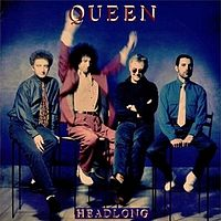 Обложка сингла «Headlong» (Queen, 1991)