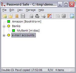 Main window Password Safe.png