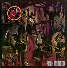 Обложка альбома Slayer «Reign in Blood» (1986)