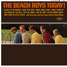 Обложка альбома The Beach Boys «The Beach Boys Today!» (1965)