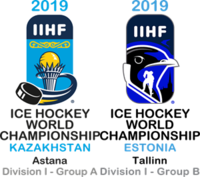 2019 IIHF Ice Hockey World Championship Division I Logo.png