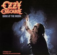 Обложка сингла «Bark at the Moon» (Ozzy Osbourne, 1983)