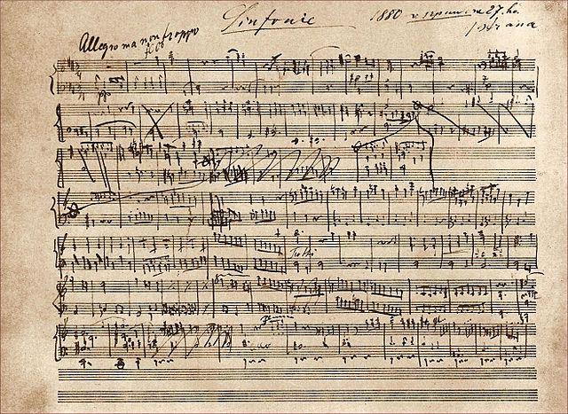 Черновик Симфонии №6