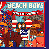 Обложка альбома The Beach Boys «Spirit of America» (1975)