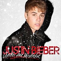 Обложка альбома Джастина Бибера «Under the Mistletoe» (2011)