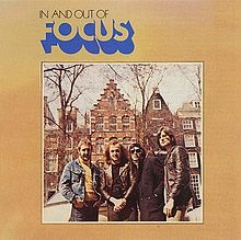 Обложка альбома Focus «In and Out of Focus» (1970)