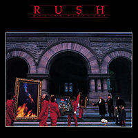 Обложка альбома Rush «Moving Pictures» (1981)