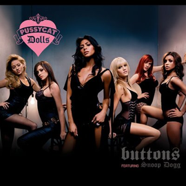 Обложка сингла Pussycat Dolls «Buttons» (2006)