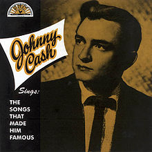 Обложка альбома Джонни Кэша «Johnny Cash Sings the Songs That Made Him Famous» (1958)