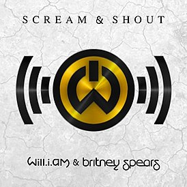 Обложка сингла will.i.am & Бритни Спирс «Scream & Shout» (2012)