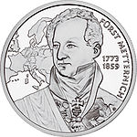 2003 Austria 20 Euro The Biedermeier Period back.jpg