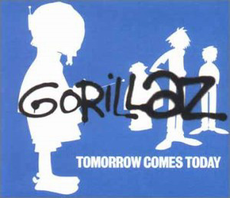 Обложка альбома Gorillaz «Tomorrow Comes Today» (2000)