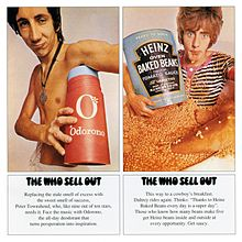 Обложка альбома The Who «The Who Sell Out» (1967)