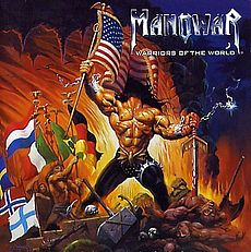 Обложка альбома Manowar «Warriors of the World» (2002)