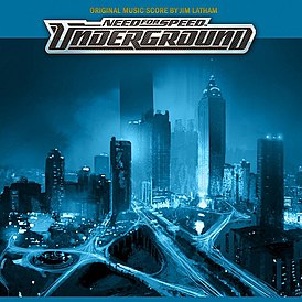 Обложка альбома «Need for Speed: Underground Original Music Score» (2006)