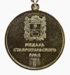 Медаль «За доблестный труд» Ставрополья I степени (реверс).png