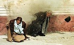 """""""Брехня"""", - активисты на ул.Грушевского заставили говорить правду журналиста """"Интера"""" - Цензор.НЕТ 671"""