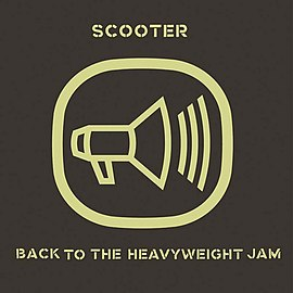 Обложка альбома Scooter «Back to the Heavyweight Jam» (1999)