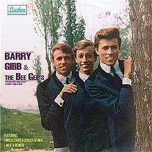 Обложка альбома Bee Gees «The Bee Gees Sing and Play 14 Barry Gibb Songs» (1965)