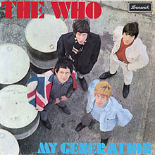Обложка альбома The Who «My Generation» (1965)