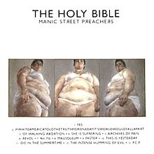 Обложка альбома Manic Street Preachers «The Holy Bible» (1994)