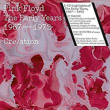 Обложка альбома Pink Floyd «Cre/ation: The Early Years 1967–1972» ()