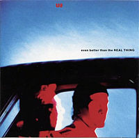 Обложка сингла «Even Better Than the Real Thing» (U2, 1992)