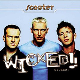 Обложка альбома Scooter «Wicked!» (1996)