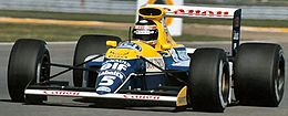Williams_FW13B 1990 года