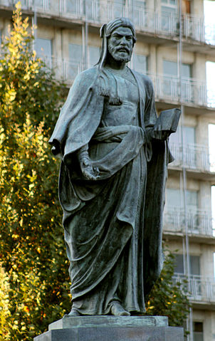 Памятник поэту в Гяндже. Скульптор Фуад Абдурахманов, 1946