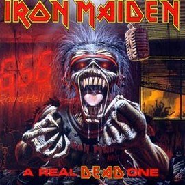 Обложка альбома Iron Maiden «A Real Dead One» (1993)