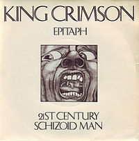 Обложка песни King Crimson «21st Century Schizoid Man»