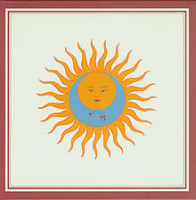 Обложка альбома King Crimson «Larks' Tongues in Aspic» (1973)