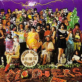Обложка альбома Фрэнка Заппы с The Mothers of Invention «We're Only in It for the Money» (1968)