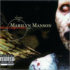 Обложка альбома Marilyn Manson «Antichrist Superstar» (1996)