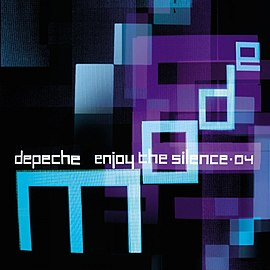 Обложка сингла Depeche Mode «Enjoy the Silence 04» (2004)