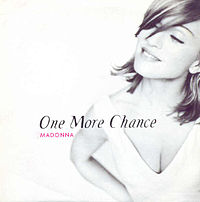 Обложка сингла «One More Chance» (Мадонны, 1996)