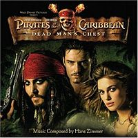 Обложка альбома Ханса Циммера «Pirates of the Caribbean: Dead Man's Chest» (2006)