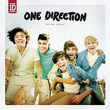 Обложка альбома One Direction «Up All Night» (2011)