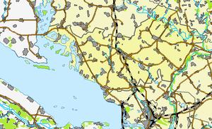 Глобинский район на карте