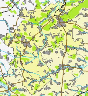 Кременец на карте