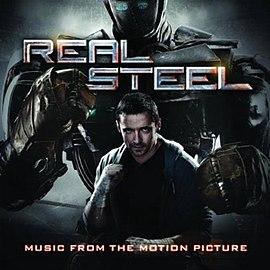 Обложка альбома от различных исполнителей «Real Steel - Music From The Motion Picture» (2011)