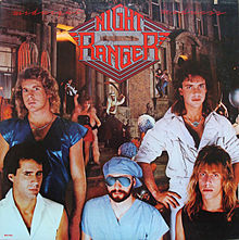 Обложка альбома Night Ranger «Midnight Madness» (1983)
