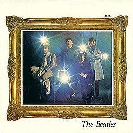 Обложка сингла The Beatles «Penny Lane» ()