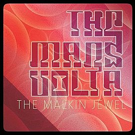 Обложка сингла The Mars Volta «The Malkin Jewel» (2012)