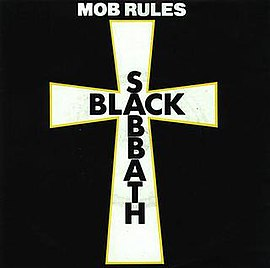 Обложка сингла Black Sabbath «The Mob Rules» (1980)