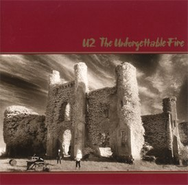 Обложка альбома U2 «The Unforgettable Fire» (1984)